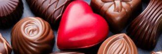 Regalos con chocolate