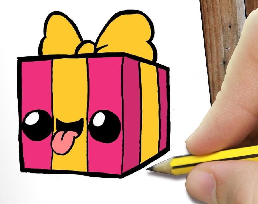 regalos dibujos para colorear