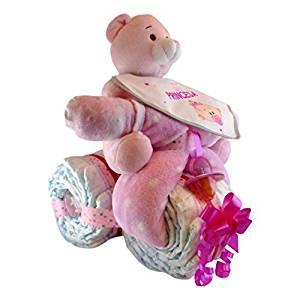 regalos con pañales para bebes paso a paso