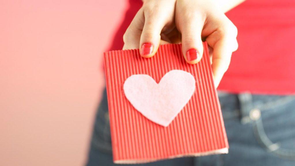 regalos románticos hechos a mano