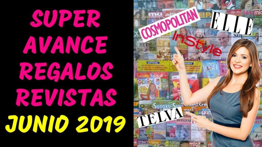 regalos revistas marzo 2019